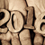number 2016 as the new year in the hands of a man stock photo © nito