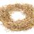 round straw frame stock photo © nito
