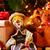 gezellig · geschenken · tekst · vrolijk · christmas · shot - stockfoto © nito