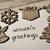 gezellig · geschenk · houten · oppervlak · mooie · papier - stockfoto © nito