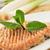bakłażan · burger · świeże · dojrzały · wegetariański · biały - zdjęcia stock © nito