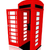 the english red telephone box stock photo © njaj