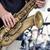 saxofoon · muzikant · mannelijke - stockfoto © njaj
