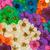 dekoratív · montázs · színes · aszalt · tavaszi · virágok · zöld - stock fotó © nneirda