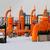 laranja · alto · tubo · textura · construção · tecnologia - foto stock © nneirda