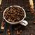 grãos · de · café · cerâmico · copo · foto · tiro · restaurante - foto stock © nneirda