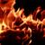 güzel · yangın · Alevler · ahşap · soyut · ışık - stok fotoğraf © nneirda