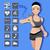 fitness · woman · akıllı · izlemek · bakıyor · dokunmatik · ekran - stok fotoğraf © norwayblue