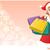 compras · nina · rosa · aislado - foto stock © norwayblue