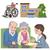 senior · schommelstoel · illustratie · vergadering · vrouw - stockfoto © norwayblue