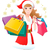 fille · Shopping · illustration · ventes · argent - photo stock © norwayblue