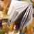 jesienią · książki · widoku · streszczenie - zdjęcia stock © Novic