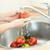 yıkama · sebze · eller · kadın · mutfak · su - stok fotoğraf © novic