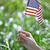 mulher · bandeira · mão · primavera · verão - foto stock © novic