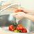 lavage · légumes · mains · femme · cuisine · eau - photo stock © novic