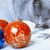 кошки · Рождества · украшение · котенка · красный - Сток-фото © novic