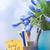 adhesive note with good job text at green office stock photo © novic