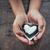 liefde · nota · zwart · wit · chocolade · kinderen · hand - stockfoto © nuiiko