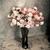 steeg · tuin · sepia · bloem · blad - stockfoto © nuiiko