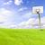 草 · 空 · 階 · 緑の草 · 青空 - ストックフォト © nuiiko