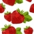 Seamless pattern with strawberry stock photo © nurrka