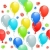 seamless pattern with balloons stock photo © nurrka