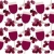 Seamless pattern with wine glasses stock photo © nurrka