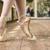 benen · mooie · ballerina · schoenen · beton - stockfoto © o_lypa