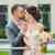 gelukkig · zoenen · buitenshuis · bruid · bruidegom - stockfoto © O_Lypa