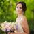 Portrait of a beautiful bride in park stock photo © O_Lypa