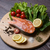 salmão · peixe · temperos · cozinhar - foto stock © o_lypa