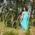 gezonde · landelijk · leven · vrouw · groene · veld - stockfoto © o_lypa