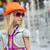 portré · lány · divatos · ruházat · elegáns · bájos - stock fotó © O_Lypa