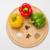 paprikák · különböző · fűszer · három · különböző · színek - stock fotó © O_Lypa