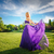 girl in blowing dress outdoors stock photo © o_lypa