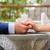 comprometido · casal · de · mãos · dadas · pessoas · férias - foto stock © o_lypa