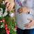 zwangere · paar · kerstboom · echtgenoot · vrouw - stockfoto © O_Lypa