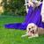 americano · verde · gramado · jovem · sessão - foto stock © o_lypa