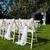 beyaz · sandalye · çim · düğün · töreni · yaz - stok fotoğraf © o_lypa