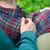 pretty couple hugging stock photo © o_lypa
