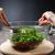 lány · főtt · vegetáriánus · zöldség · saláta · főzés - stock fotó © O_Lypa