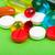Colorful pills stock photo © Obencem