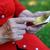 supérieurs · femme · smartphone · technologie - photo stock © ocskaymark