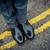 chaussures · rue · route · jaune · ligne · affaires - photo stock © ocusfocus
