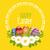 Пасху · карт · украшенный · яйцо · христианской - Сток-фото © odina222