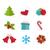 blanco · diseno · Navidad · vector - foto stock © odina222