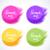 colorido · vetor · aquarela · círculo · coleção - foto stock © odina222