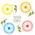 establecer · colorido · flor · tarjeta · de · felicitación · primavera · amor - foto stock © odina222