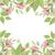 legelő · virág · levél · koszorú · izolált · fehér - stock fotó © odina222