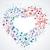 müzik · notaları · kalpler · bilgisayar · soyut · dizayn · sanat - stok fotoğraf © odina222